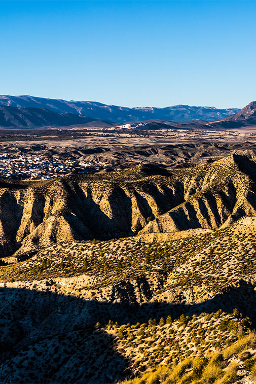 Vista parcial Geoparque de Granada